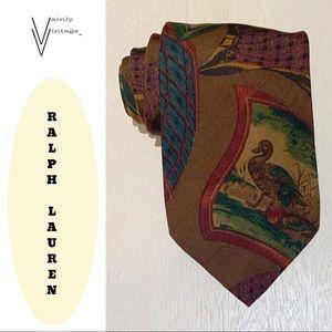 Ralph Lauren Polo Silk Necktie